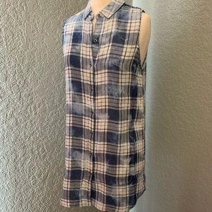 🆕Kenneth Cole | Plaid Tunic Top/ Dress